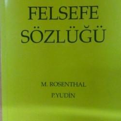 Felsefe Sözlüğü